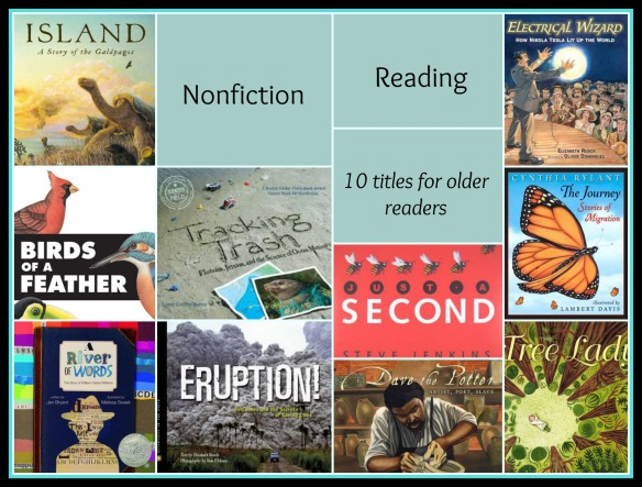 Nonfiction Reading Ten titles for older readers There's a Book for That