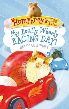 Humphrey's  Really Wheely Racing Day #IMWAYR There's a Book for That Monday October 13th 2014