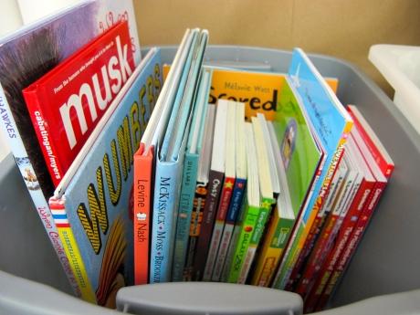 Celebration: Books, books, books and reader whispers