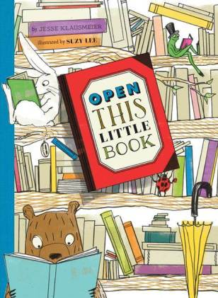 Open-This-Little-Book #IMWAYR There's a Book for That October 6th 2014