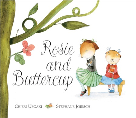 Rosie and Buttercup Monday October 27th, 2014 #IMWAYR There's a Book for That