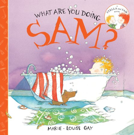 What are you doing Sam? Monday October 20th, 2014 #IMWAYR There's a Book for That