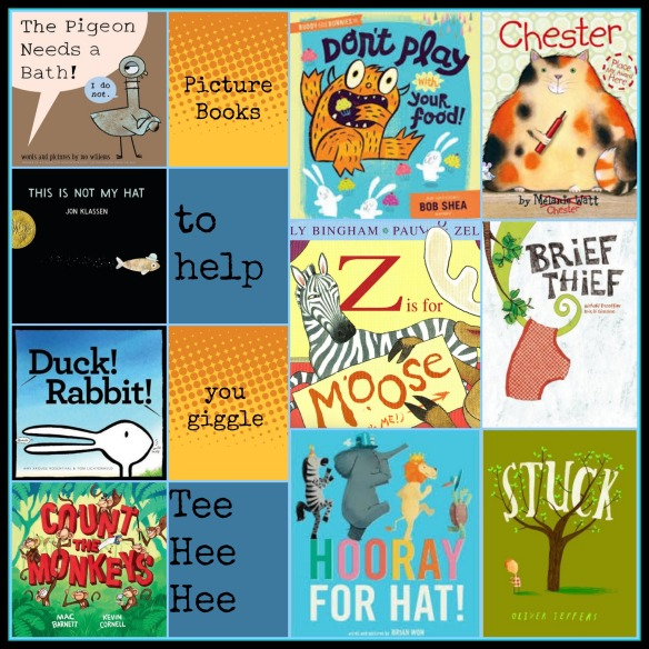 Picture books to help you giggle There's a Book for That