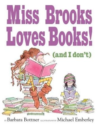 Miss Brooks Loves Books! Monday November 3rd, 2014 IMWAYR There's a Book for That