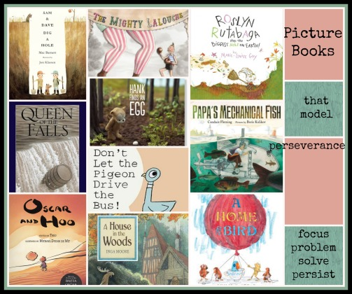 Picture Books that model perseverance There's a Book for That
