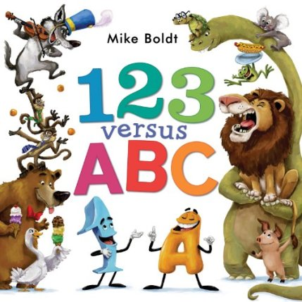 123 Versus ABC Monday December 15th, 2014 IMWAYR There's a Book for That
