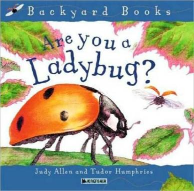 Are you a Ladybug? Monday December 8th, 2014 #IMWAYR There's a Book for That