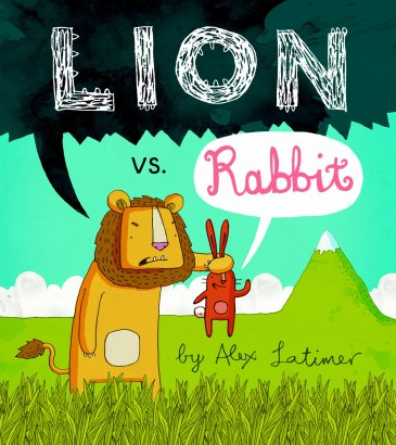 Lion vs Rabbit Monday December 22nd, 2014 There's a Book for That