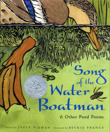 Songs of the Water Boatman Monday December 22nd, 2014 There's a Book for That