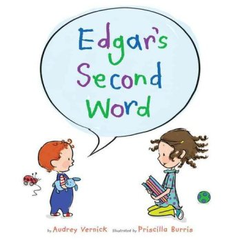 Edgar's Second Word  #IMWAYR Monday January 5th, 2015 There's a Book for That