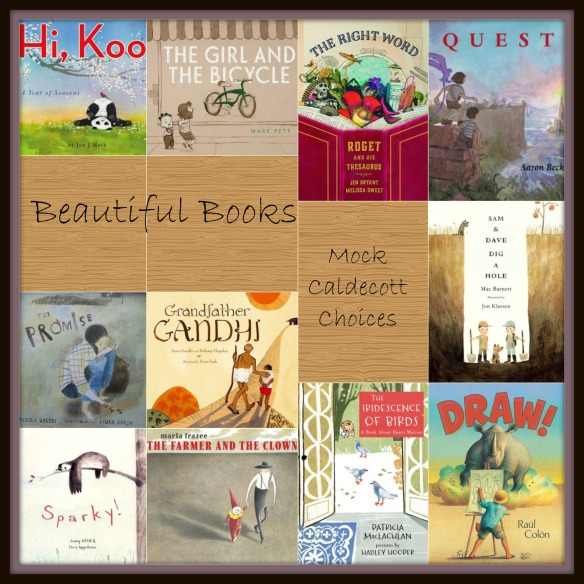 Mock Caldecott Choices 2015 There's a Book for That