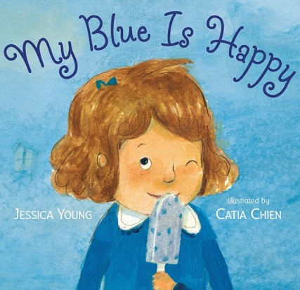 My Blue is Happy Monday January 19th, 2015  #IMWAYR There's a Book for That