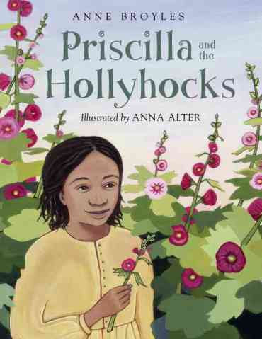 Priscilla-and-the-Hollyhocks- Monday January 19th, 2015  #IMWAYR There's a Book for That