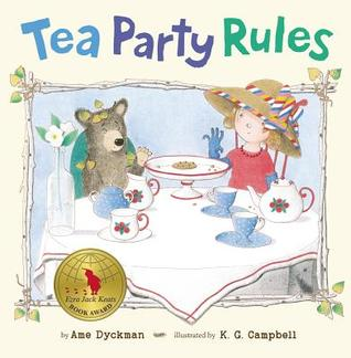 Tea Party Rules  #IMWAYR Monday January 5th, 2015 There's a Book for That