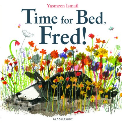 Time for Bed Fred! Monday January 12th, 2015  #IMWAYR There's a Book for That