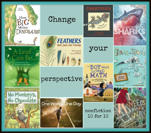 Nonfiction 10 for 10 2015: Change your perspective There's a Book for That