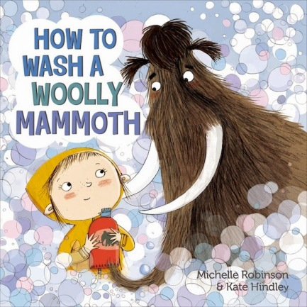 How to Wash a Wooly Mammoth Monday February 9th, 2015 #IMWAYR There's a Book for That