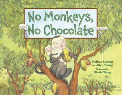 no-monkeys-no-chocolate Nonfiction Picture Book Wednesday: A Starter Kit for Teachers New to Nonfiction