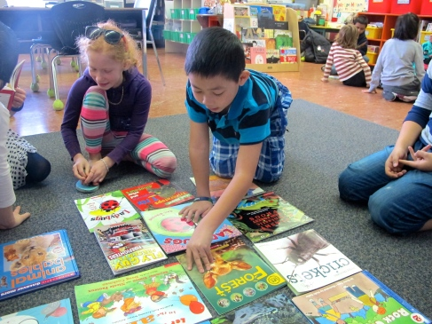 Nonfiction conversations: Book sharing circles - what nonfiction titles are we drawn to and why?