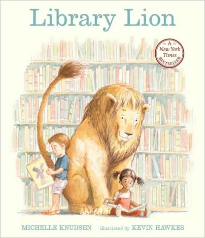 Library Lion Monday March 30th, 2015 #IMWAYR There's a Book for That