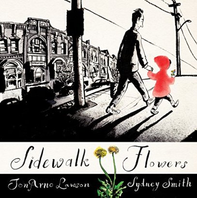sidewalk flowers Ten Titles read so far in 2015 There's a Book for That