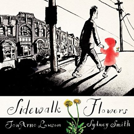 sidewalk flowers  Monday April 6th, 2015 #IMWAYR There's a Book for That