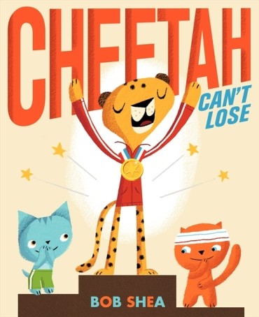 Cheetah Can't Lose  Monday May 25th, 2015 There's a Book for That