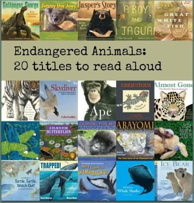 Endangered Animals Best of my book lists 2015 There's a Book for That