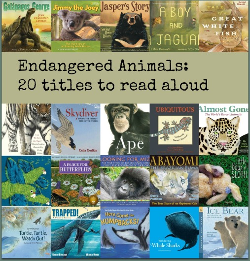 Endangered Animals: Building a read aloud collection There's a Book for That