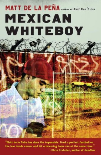 Mexican Whiteboy by Matt de la Peña Top Ten Books on My Summer TBR list for 2015 There's a Book for That