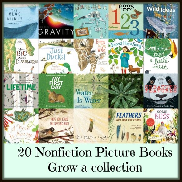 Nonfiction Picture Books - grow a beginning collection There's a Book for That
