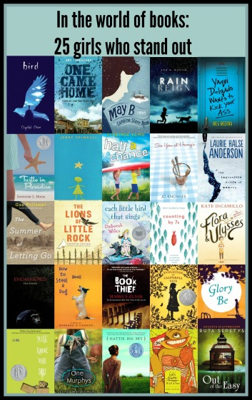 25 girls Best of my book lists 2015 There's a Book for That