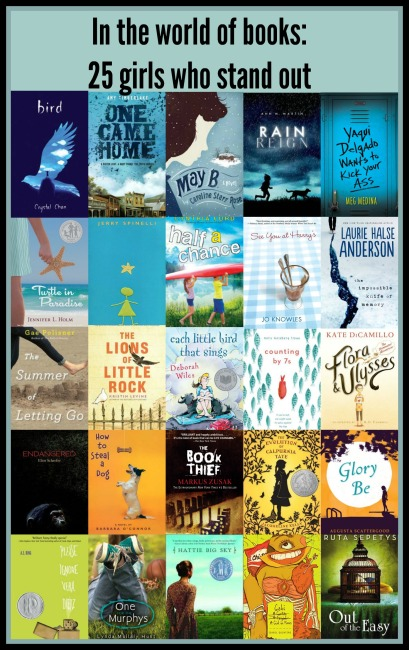 In the world of books: 25 girls who stand out There's a Book for That