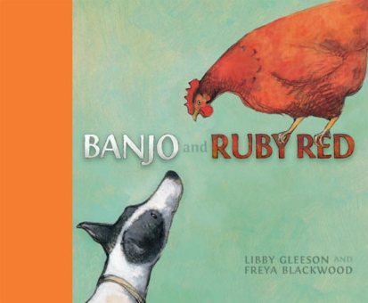 Banjo and Ruby Red Monday July 27th, 2015 There's a Book for That