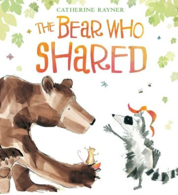Bear who Shared Monday July 13th 2015 There's a Book for That