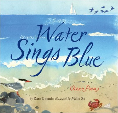 Water Sings Blue  I wanted to see a whale There's a Book for That