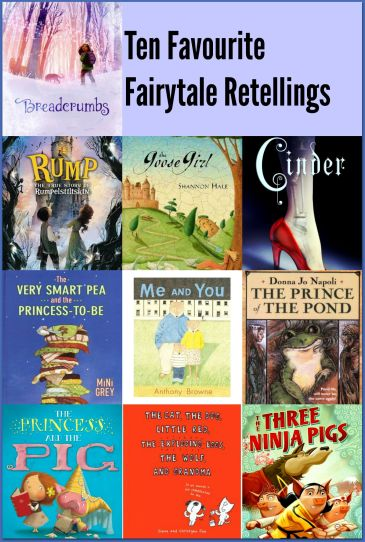 Top Ten Tuesday: Ten Favourite Fairytale Retellings There's a Book for That