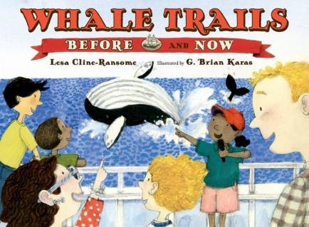 Whale Trails, Before and Now  Monday July 20th, 2015 There's a Book for That