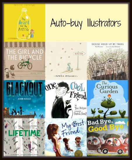 Top Ten Tuesday: Ten plus ten equals twenty auto-buy Illustrators