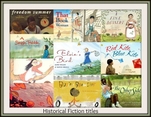 Historical Fiction Titles: ten of my favourites for #Pb10for10 2015 There's a Book for That