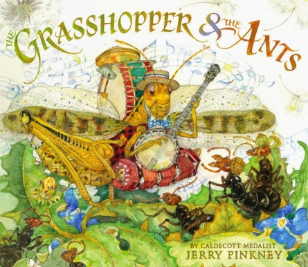The Grasshopper & The Ants Monday August 10th, 2015 There's a Book for That