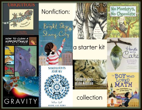 Nonfiction a starter kit collection NFPB 2015 Ten titles for those new to nonfiction