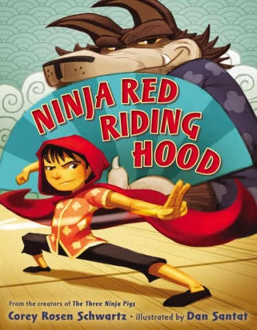 Ninja Red Riding Hood Monday October 12th, 2015 There's a Book for That