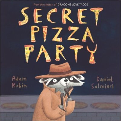 Secret Pizza Party Monday October 12th, 2015 There's a Book for That