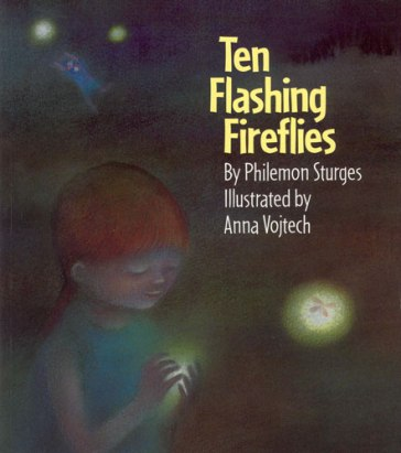 Ten flashing Fireflies Monday October 26th, 2015 There's a Book for That