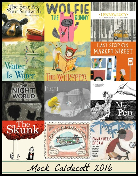 Mock Caldecott 2016 There's a Book for That