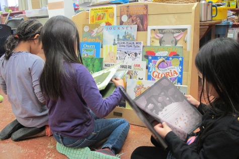 Celebration: Mock Caldecott moments