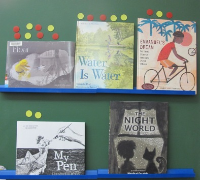 Mock Caldecott titles IMWAYR