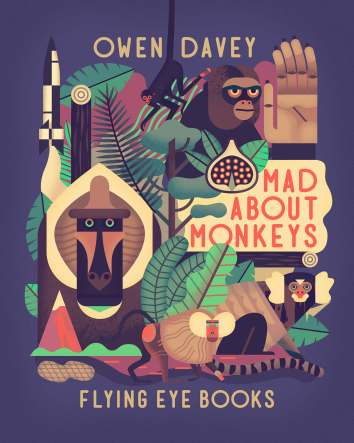 Mad about Monkeys Nonfiction Picture Book Wednesday and I've been reading . . .
