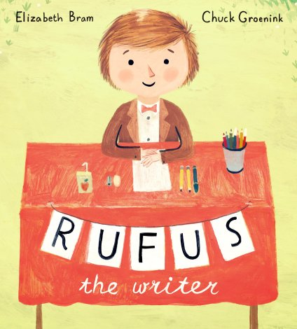 Rufus the Writer Ten titles I would love to find under the tree There's a Book for That